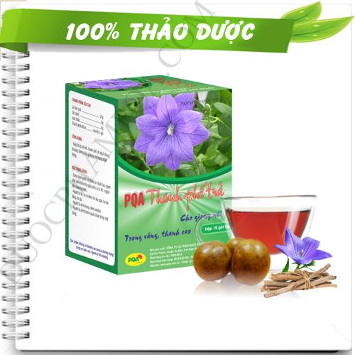 PQA thanh phế trà giúp trị viêm họng