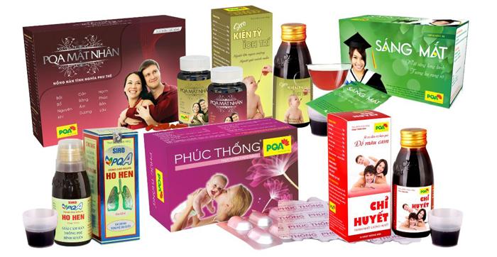 Sản phẩm công ty dược phẩm PQA