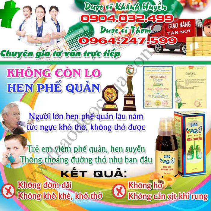 PQA Hen Suyễn