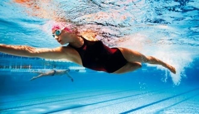 tập bơi lội