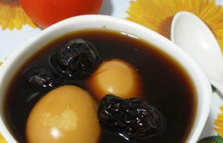 canh trứng tam thất