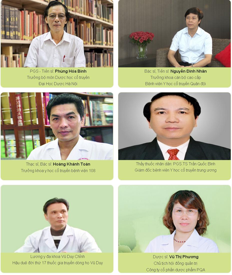 Hội đồng khoa học công ty dược phẩm PQA